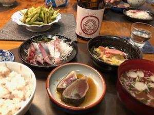 夕食(居酒屋風?)